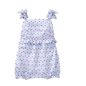 Janie and Jack romper 18-24 m